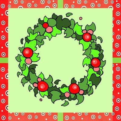 Wreath Green by Valarie Wade