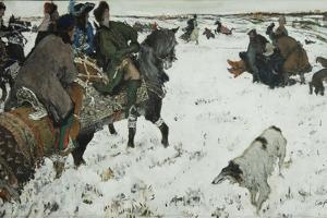 Peter I on the Hunt, 1902 by Valentin Alexandrovich Serov