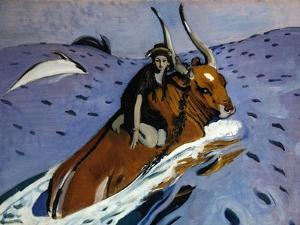The Rape of Europa, 1910 by Valentin Alexandrovich Serov