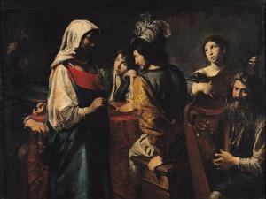 The Fortune Teller by Valentin de Boulogne