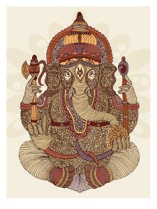Ganesha by Valentina Ramos