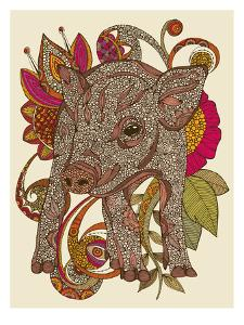 Paisley Piggy by Valentina Ramos