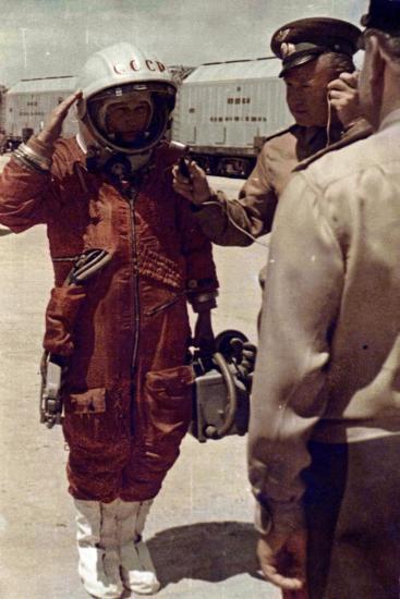 Valentina Tereshkova, Russian Cosmonaut, Baikonur Cosmodrome, USSR, 16 June 1963--Giclee Print