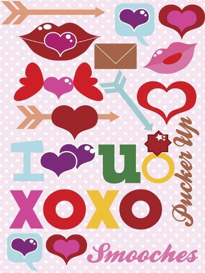 Valentine 01-Asmaa' Murad-Giclee Print