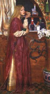 The Queen Was In The Parlour Eating Bread and Honey by Valentine Cameron Prinsep