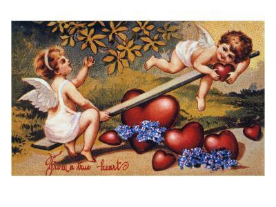 Valentine's Day Card--Giclee Print