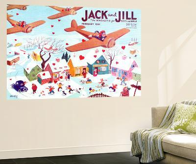 Valentine's  - Jack and Jill, February 1941-Michael Berry-Wall Mural
