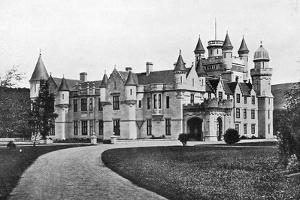 Balmoral Castle, Scotland, C1920 by Valentine & Sons