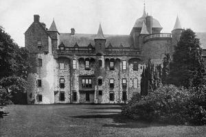 Thirlestane Castle, Lauder, Scotland, 1924-1926 by Valentine & Sons