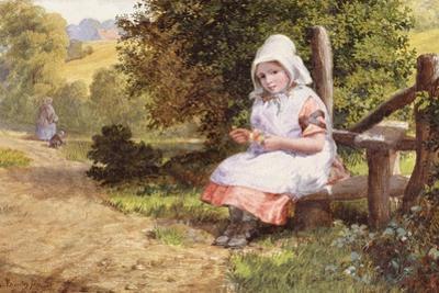 Resting, 1865 by Valentine Walter Lewis Bromley