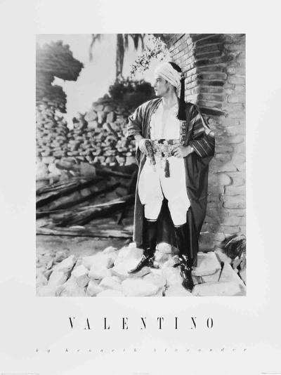 Valentino-Kenneth Alexander-Art Print