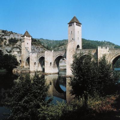 Valentre Bridge--Giclee Print