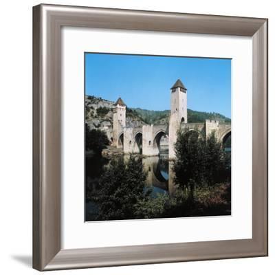 Valentre Bridge--Framed Giclee Print