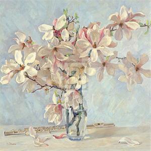 Magnolias by Valeri Chuikov