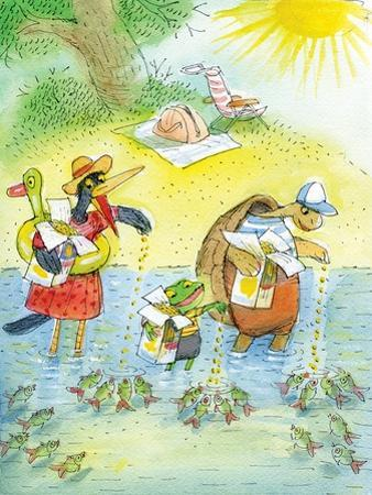 Ted, Ed and Caroll and the Tiny Fish 4 - Turtle by Valeri Gorbachev