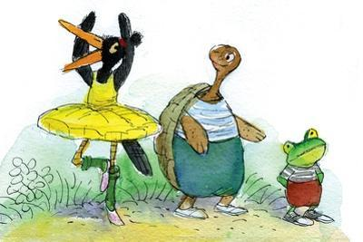 Ted, Ed, and Caroll are Great Friends - Turtle by Valeri Gorbachev