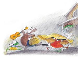 Ted, Ed and Caroll - the Picnic - Turtle by Valeri Gorbachev