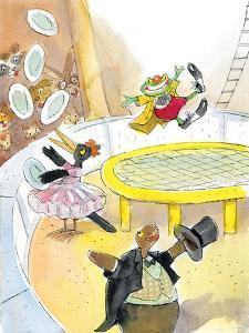Ted, Ed. Caroll and the Trampoline - Turtle by Valeri Gorbachev