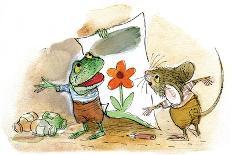 Something Red - Turtle-Valeri Gorbachev-Giclee Print