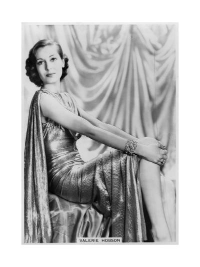 Valerie Hobson, British Actress, C1936-C1939--Giclee Print