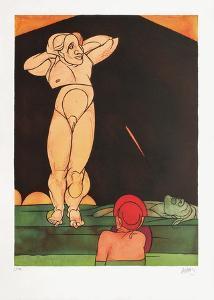 Feuille De Vigne by Valerio Adami