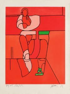 La Danseuse by Valerio Adami