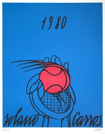 Roland Garros, 1980 (blue)