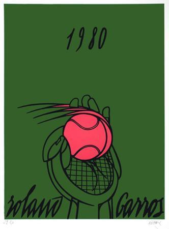 Roland Garros, 1980 (green)