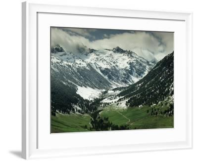 Vall d'Aran, Near Viella, Catalonia, Spain-Michael Busselle-Framed Photographic Print