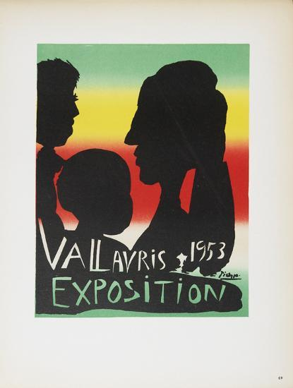 Vallauris Exposition-Pablo Picasso-Collectable Print