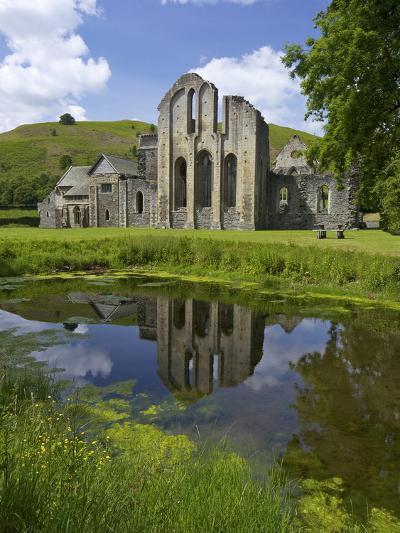 Valle Crucis, Ruined Cistercian Abbey, in Llantysilio, Near Llangollen, Denbighshire, Wales, Uk-Peter Barritt-Photographic Print