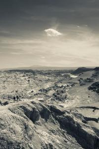 Valle De La Muerte rock formation, Atacama Desert, San Pedro De Atacama