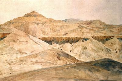Vallee Des Tombeaux, Egypt, 19th Century-Hector Horeau-Giclee Print