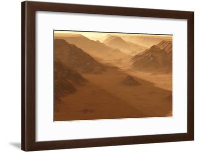 Valles Marineris, Artwork-Detlev Van Ravenswaay-Framed Photographic Print