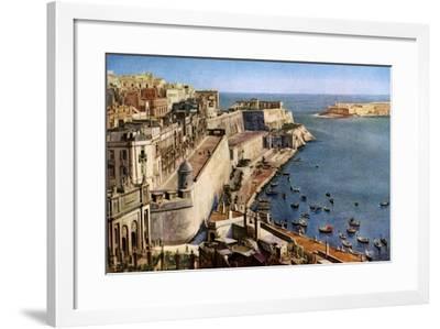 Valletta, Malta, C1930S--Framed Giclee Print