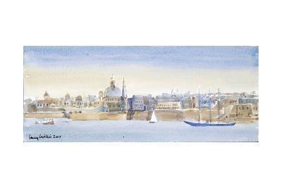 Valletta Skyline, 2011-Lucy Willis-Giclee Print