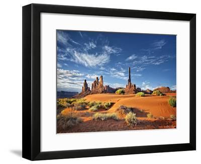 Valley Beauty V-David Drost-Framed Art Print