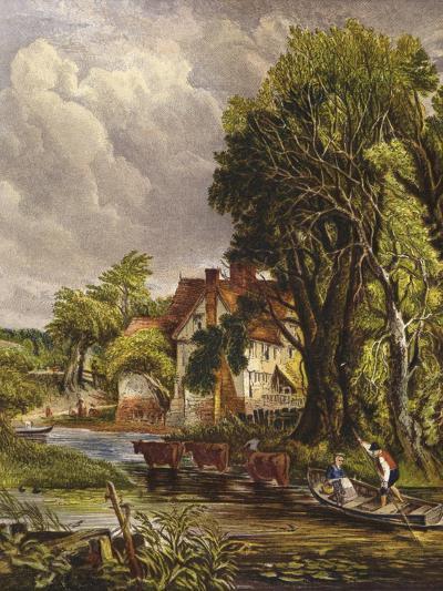 Valley Farm-John Constable-Giclee Print