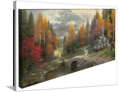 Valley of Peace-Thomas Kinkade-Gallery Wrapped Canvas