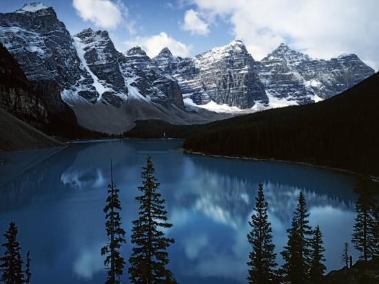 Valley of Ten Peaks, Lake Morain, Banff National Park, Alberta, Canada-Charles Gurche-Photographic Print