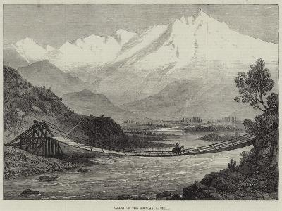 Valley of the Aconcagua, Chili--Giclee Print