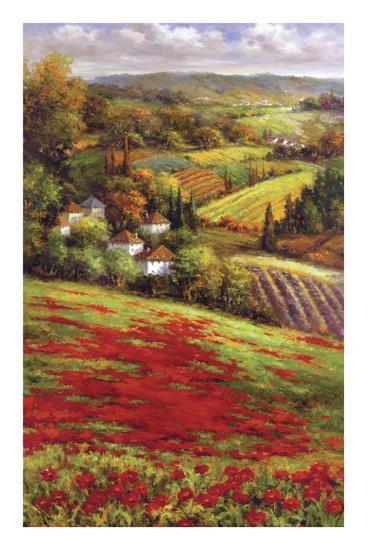 Valley View III-Hulsey-Art Print