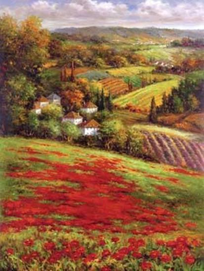 Valley View III--Art Print