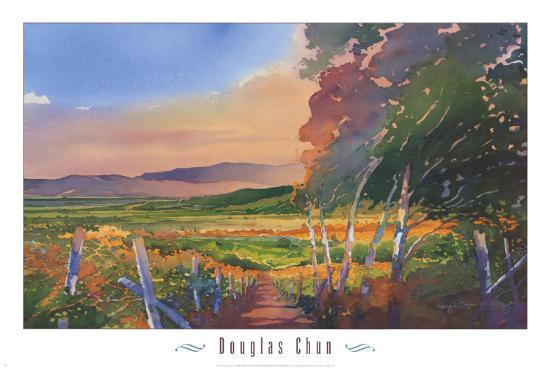 Valley Vista-Douglas Chun-Art Print