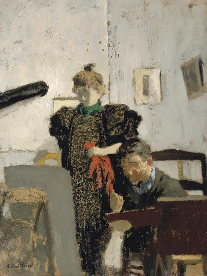 Vallotton and Natanson-?douard Vuillard-Giclee Print