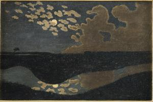 Moonlight, 1894 by Vallotton F�x