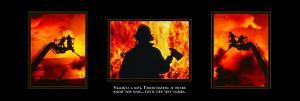 Valor: Firefighter Triptych