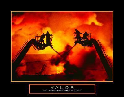 Valor: Firefighter--Art Print