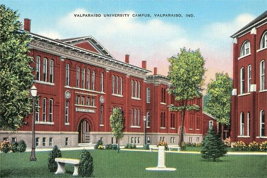 Valparaiso University Campus--Art Print
