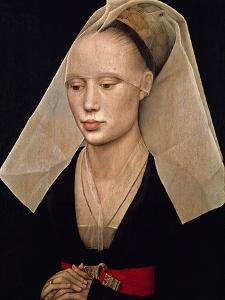 Portrait of a Woman, C. 1460 by Van der Weyden Rogier